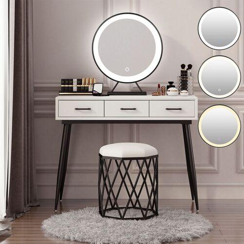 WYCTIN Schminkspiegel mit LED ,Kosmetikspiegel Beleuchtung ,Schminkspiegel mit