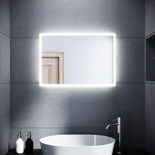 SONNI LED Badspiegel Lichtspiegel Kupfer/bleifreie Spiegel Wandspiegel