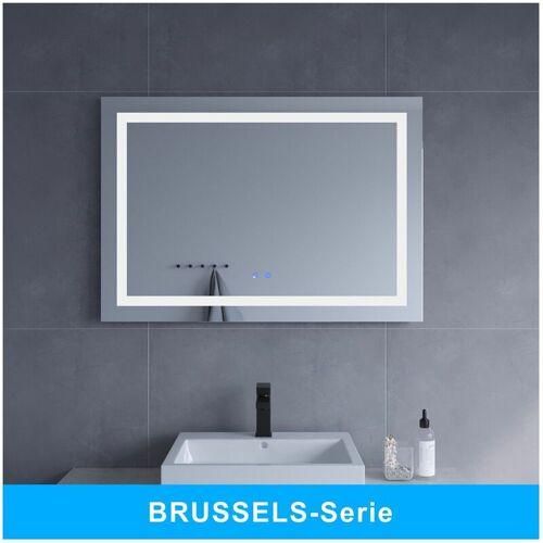 AQUABATOS ® LED Badspiegel mit Beleuchtung Badezimmerspiegel Beleuchtet