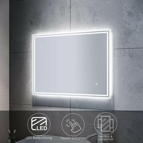 Sonni - Badspiegel LED mit Beleuchtung Touch Wandspiegel