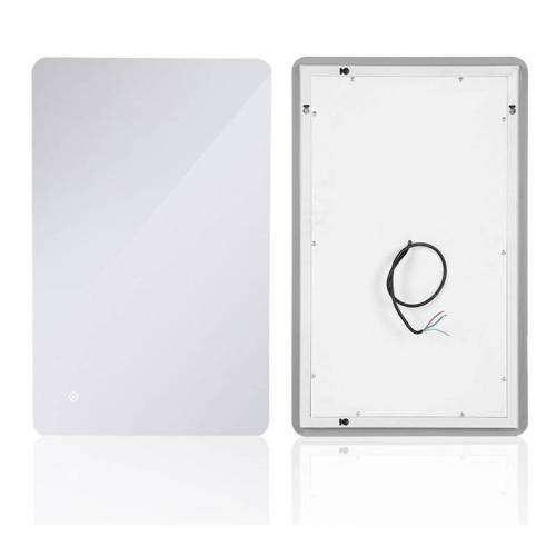 OOBEST LED Badspiegel Sensor Lampe Wandspiegel Anti-Beschlag spiegel 70*50cm