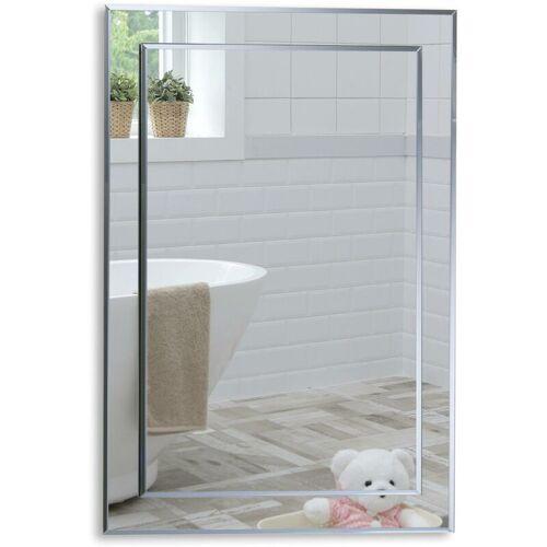 MOOD Badezimmerspiegel, Badspiegel, Wandspiegel, Spiegel, Zwei