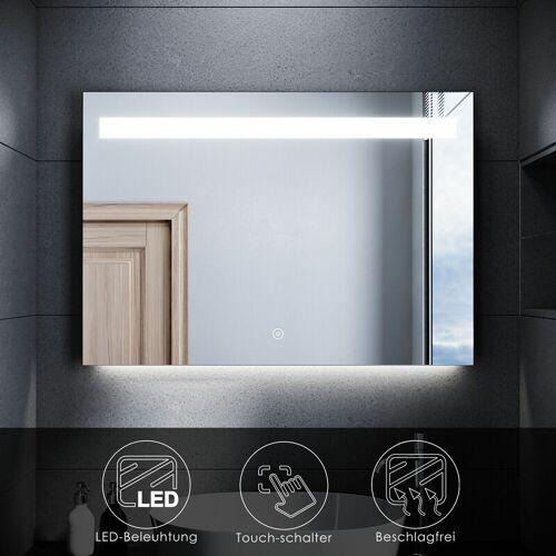 SONNI LED Badspiegel mit Beleuchtung Badezimmerspiegel Beschlagfrei