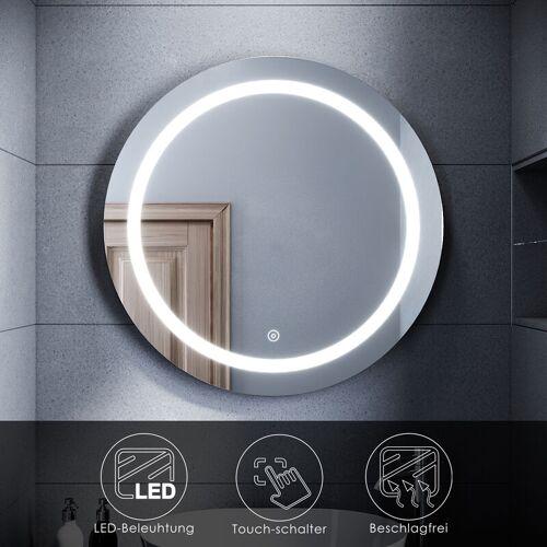 SONNI LED Badspiegel Wandspiegel mit Beleuchtung Touch Schalter