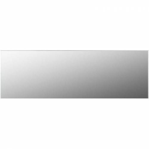 YOUTHUP Rahmenloser Spiegel 120x30 cm Glas