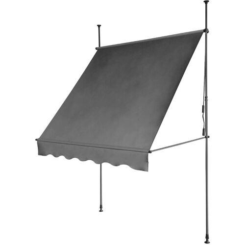 SVITA Klemmmarkise 280g/m² Balkon-Markise Vordach Sonnenschutz mit
