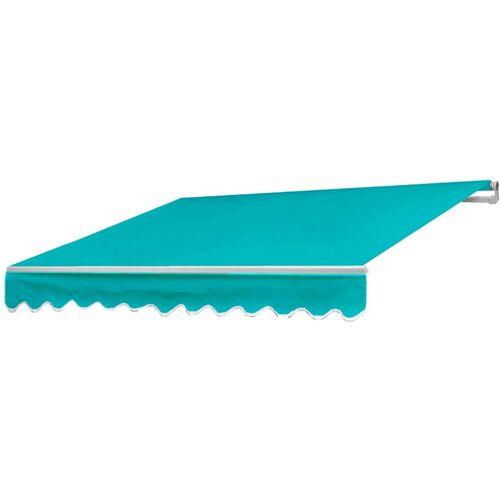 HHG Alu-Markise HHG-983, Gelenkarmmarkise Sonnenschutz 4,5x3m ~ Polyester