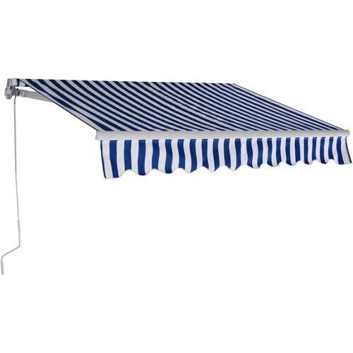 COSTWAY 3 x 2,5 m Gelenkarmmarkise Sonnenmarkise Balkonmarkise