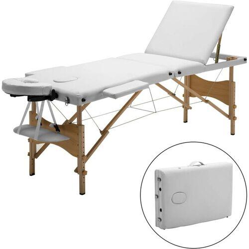 MEERVEIL mobile Massageliege, klappbare Kosmetikliege Therapieliege,