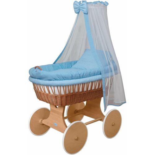 WALDIN Baby Stubenwagen-Set mit Ausstattung,XXL,Bollerwagen,komplett,18