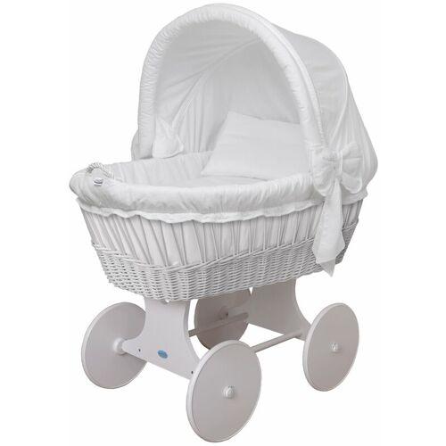 WALDIN Baby Stubenwagen-Set mit Ausstattung,XXL,Bollerwagen,komplett,26