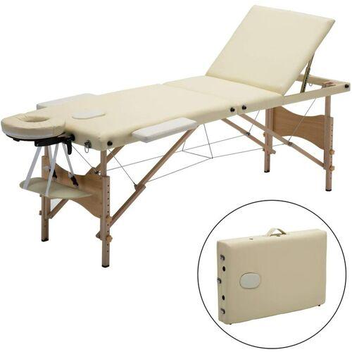 Meerveil - mobile Massageliege, klappbare Therapieliege,