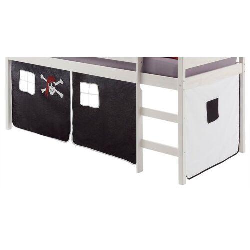 IDIMEX Vorhang CLASSIC, in schwarz/weiss PIRAT