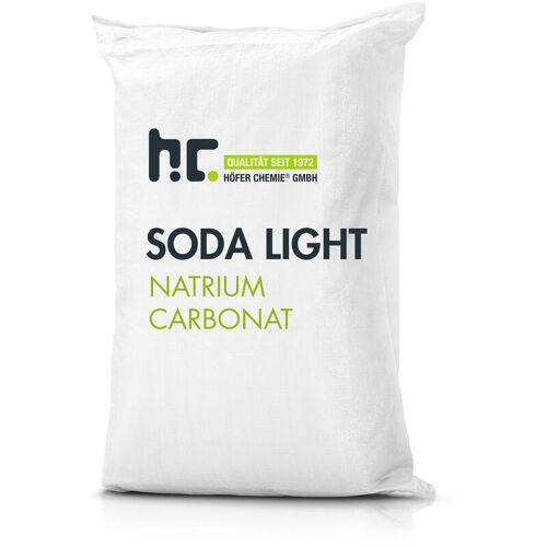 HöFER CHEMIE 4 x 25 kg Natriumcarbonat (Soda) leicht technische Qualität Vorratspack