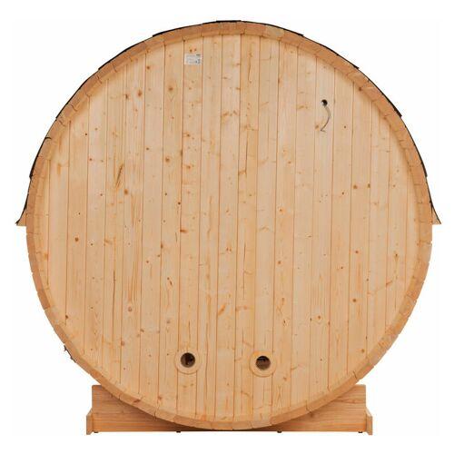 Home Deluxe - Outdoor Fasssauna inkl. Saunaofen Lahti L I Gartensauna,