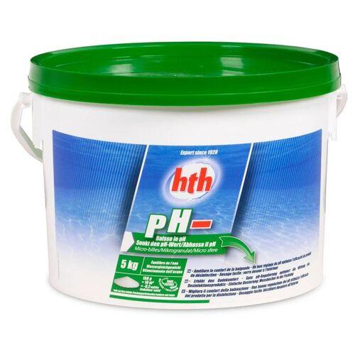 hth pH Minus Pulver 5,0 kg Eimer