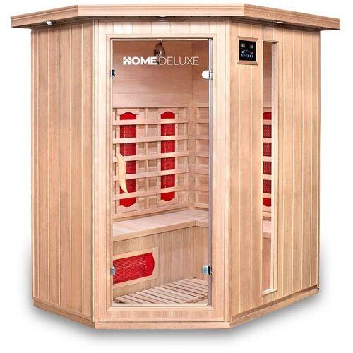 HOME DELUXE Infrarotsauna Redsun XL I Infrarotkabine, Wärmekabine, Saunakabine,