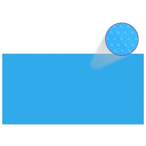 YOUTHUP Rechteckige Pool-Abdeckung PE Blau 549 x 274 cm