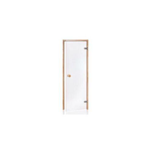 DESINEO Tür für Sauna mit vorgespanntem 8 mm Glas 70 x 190 cm (Rahmen aus