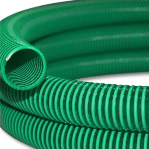 WILTEC 10m Saugschlauch Druckschlauch 32mm (1 1/4') Spiralschlauch Wasser Made