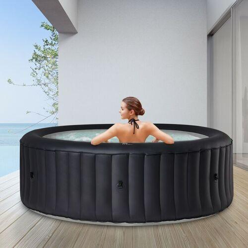 MSPA 6 Personen Whirlpool aufblasbar MSPA Rimba Outdoor Garten Massage Pool
