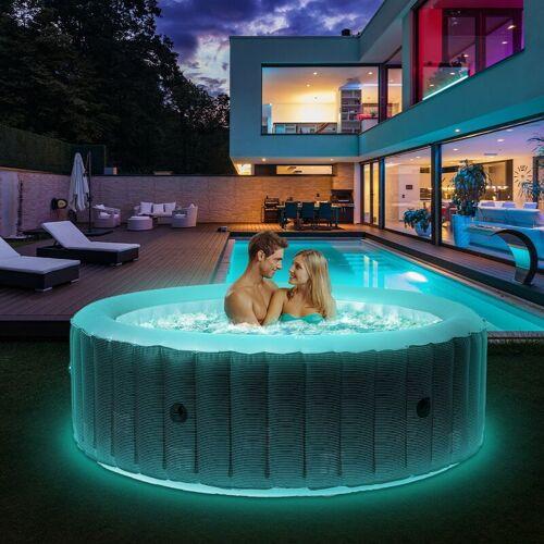 MSPA 6 Personen Whirlpool aufblasbar MSPA STARRY Outdoor Garten Massage Pool