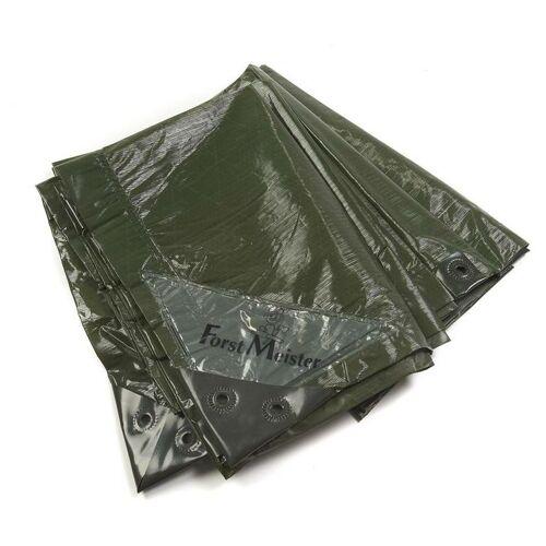 FORSTMEISTER Abdeckplane, grün, stark 90 g/ m²,10 x 15 m - Forstmeister