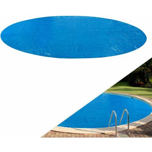 AREBOS Solarfolie blau 400 my 5 m rund
