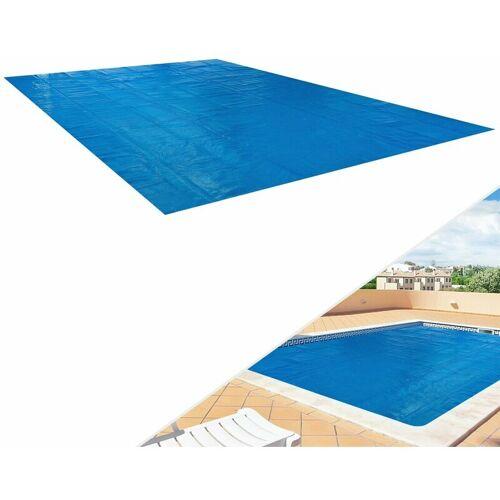 AREBOS Solarfolie blau 400 my 8x5 m eckig - AREBOS