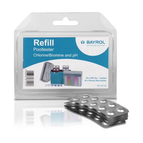 BAYROL Refill für Pooltester Chlor, Brom + pH - Bayrol