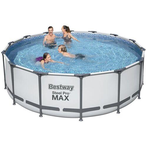 Bestway 5612X Steel Pro Max runder oberirdischer Pool 427x122cm