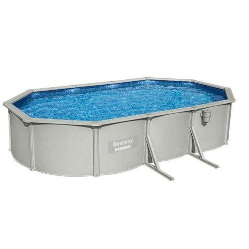 Bestway 56369 Hydrium ovaler oberirdischer Pool 610x360x120cm