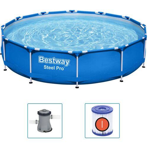 BESTWAY Pool Steel Pro Frame 366x76 cm - Bestway