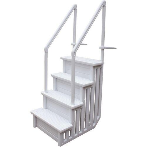 HABITAT ET JARDIN Einfache Pool-Treppe - HABITAT ET JARDIN