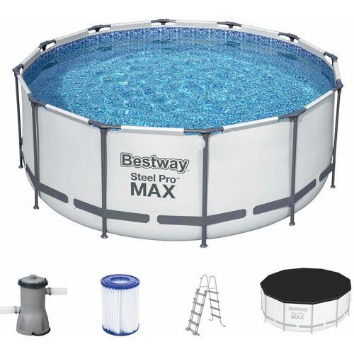 BESTWAY Frame Pool Steel Pro™ Ø 366x122cm Filterpumpanlage Filterkartusche