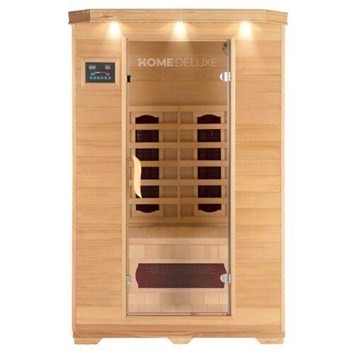 Home Deluxe - Infrarotsauna Redsun M I Infrarotkabine, Wärmekabine,
