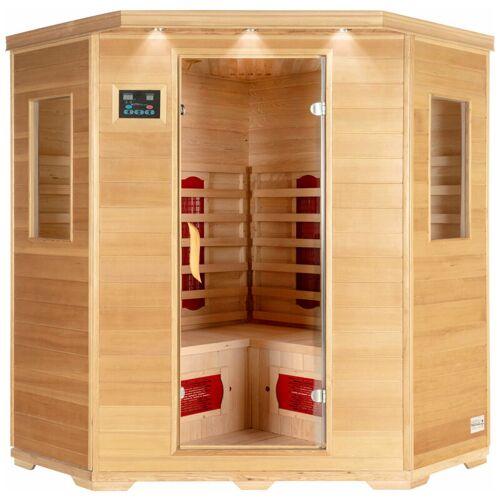 Home Deluxe - Infrarotsauna Redsun XXL   Infrarotkabine, Wärmekabine,