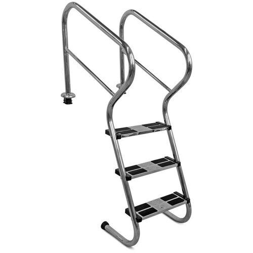 IDEAL Treppenleiter mit Sicherheitsstufen V2A 3-stufig bis 1,20m
