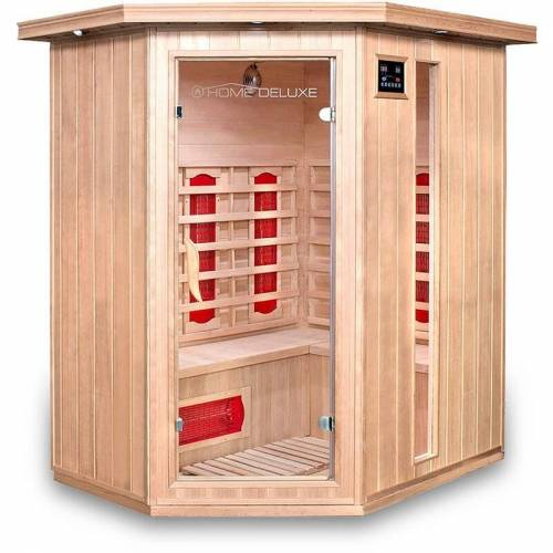 Home Deluxe - Infrarotsauna Redsun XL I Infrarotkabine, Wärmekabine,