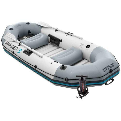 Intex 68373 Schlauchboot Angelboot Ruderboot Paddel + Pumpe Mariner 3