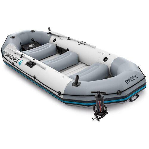 Intex 68376 Mariner 4 Boot Set Aufblasbares Schlauchboot