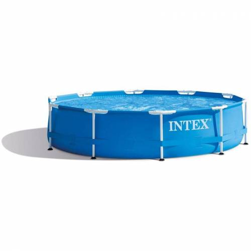 INTEX Metal Frame Pool Swimmingpool Familienpool Ø 305 cm 28200