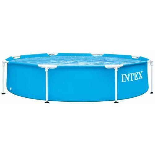 INTEX Swimming Pool Metallrahmen 244x51 cm - Intex