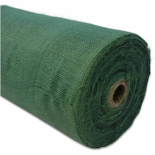 Noor - JUTEGEWEBE H215/100 cm grün