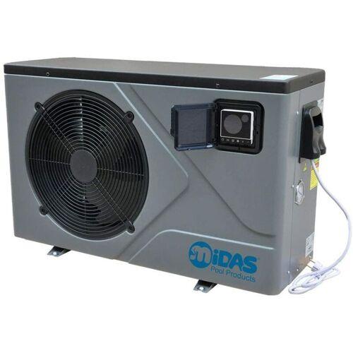 MIDAS POOL PRODUCTS Full-Inverter Wärmepumpe Mida.Joy 17 bis 16,80kW + Bypass Set Basic