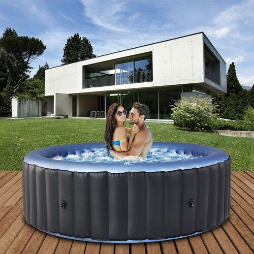 MSPA 6 Personen Whirlpool aufblasbar MSPA BERGEN Outdoor Garten Massage Pool