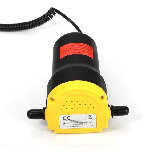 OOBEST Ölabsaugpumpe 60W/12V Ölpumpe zum Ölwechsel Motoröl Heizöl Diesel