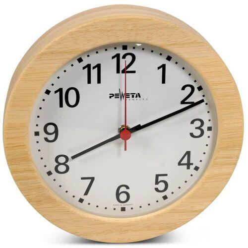 FINNSA Wanduhr für Vorräume m. lautlosem Uhrwerk