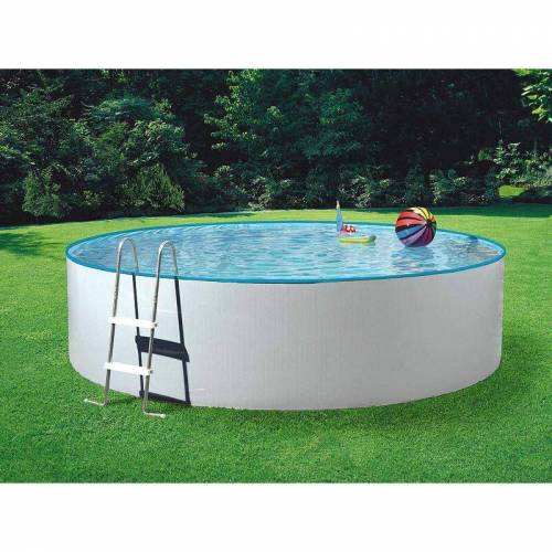 MYPOOL Poolset Splash mit Sandfilter Ø 3,60 x 0,90 m Mit Sandfilteranlage 3,5