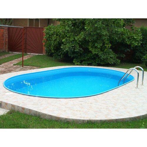 MYPOOL MY-Poolset Feeling Oval weiß mit Sandfilteranlage LxB: 305x183